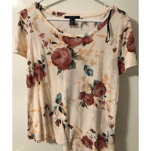 🚨$5 FINAL🚨 Forever 21 Floral Top